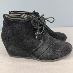 Toms Ankle Booties Sz 6.5W